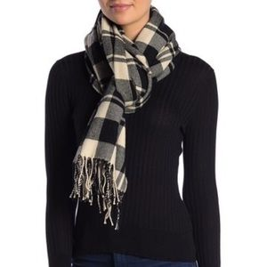 Madewell Patterson Plaid Fringe Scarf